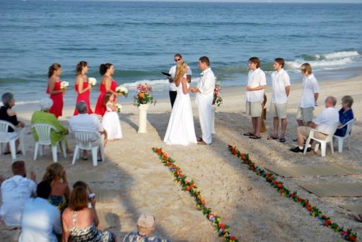 Beach wedding.2